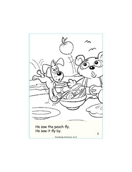 Pierre and the Big Peach...Book 4