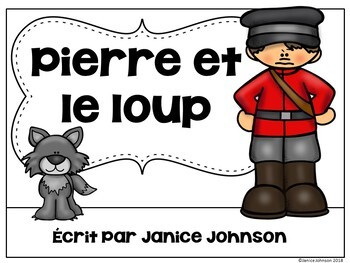 Pierre et le Loup French Peter & Wolf Reader ~ Simplified for Language Learners