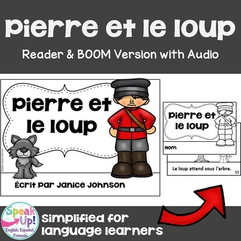 Pierre et le Loup French Peter & Wolf Reader ~ Simplified
