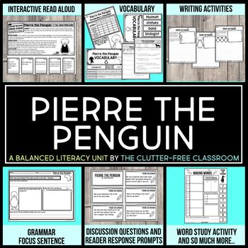 Pierre the Penguin by Jean Marzollo Book Companion Activities