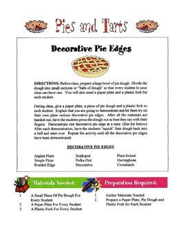 Pies & Tarts Lesson