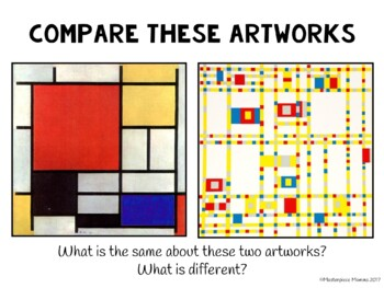 Piet Mondrian: An Art Lesson in Primary Colors