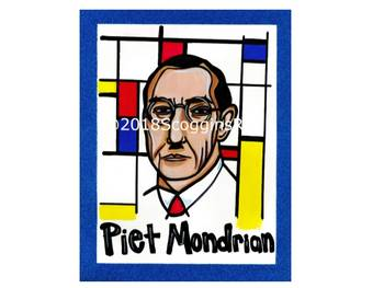 Piet Mondrian- Artist Poster