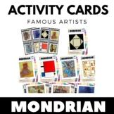 Piet Mondrian - Famous Artist Activity Cards - Art Unit -
