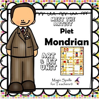 Piet Mondrian - Meet the Artist - Artist of the Month - Li