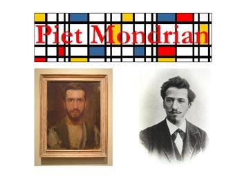 Piet Mondrian/ Primary Colors