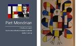 Piet Mondrian Thanksgiving turkey Step by step art lesson