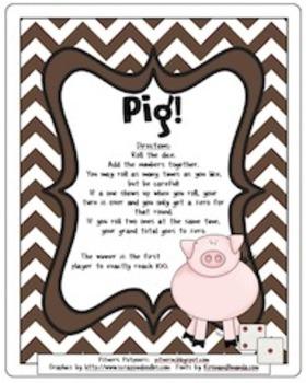 Pig! Adding to One Hundred