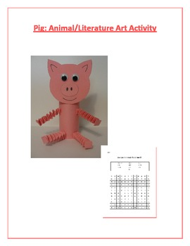 Pig: Animal/Literature Art Activity