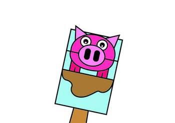 Pig Bag Hand Puppet