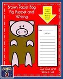Pig Craft: Puppet (Farm Animal Research, Spring, Autumn)