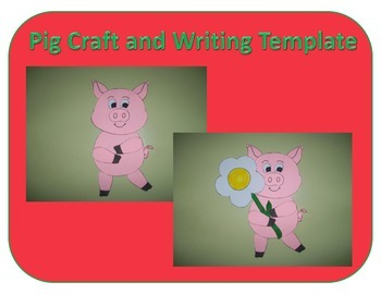 Pig Craft and Writing Template