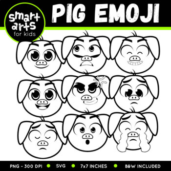 Pig Emoji Clip Art