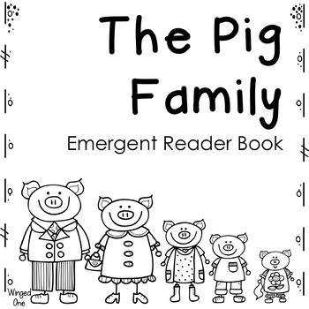 Pig Family Emergent Reader