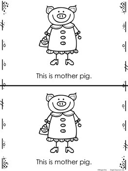 Pig Family Emergent Reader