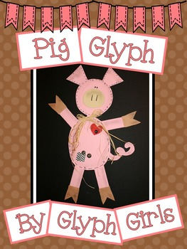Pig Glyph with Writing Options