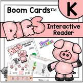 Pig Interactive Reader | Boom Cards Deck
