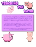 Pig Latin for Phenomic Awareness