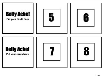 Pig Out Number Recognition Game