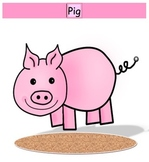 Pig - Pie game - long and short /i/ vowel discrimination w