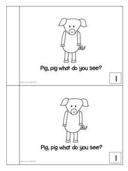 Pig, Pig What Do You See? Farm Animal Easy Reader