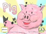 Early Reader Pig - Reading Sprouts - Level 1 Beginner reader