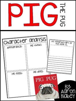 Pig The Pug / Read Aloud Book Companion