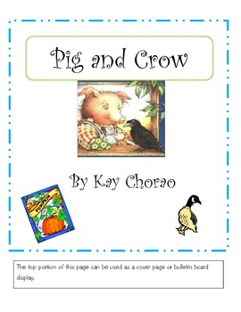 Pig and Crow (a delightful story)