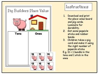 Pig builders place value