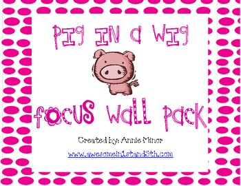 Pig in a Wig Focus Wall Pack