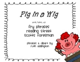Pig in a Wig Fry Phrases Reading Street
