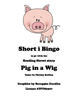Pig in a Wig short i bingo