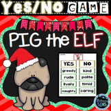 Pig the Elf Character Traits Game - Christmas Book Companion