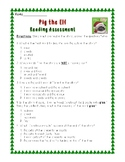 Pig the Elf: Comprehension Assessment--Multiple Choice Test
