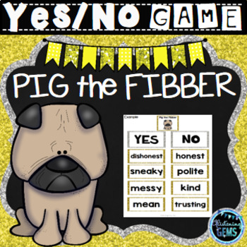 Pig the Fibber - Character Traits Game