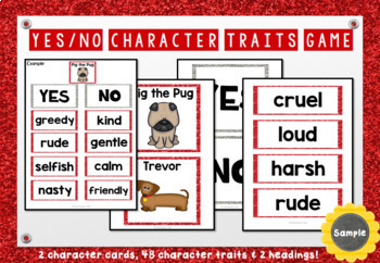 Pig the Pug - Character Traits Game