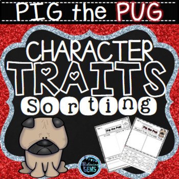 Pig the Pug - Character Traits Sorting