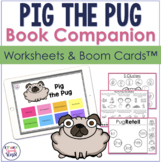 Pig the Pug Speech Activities | Boom™ Cards and Print