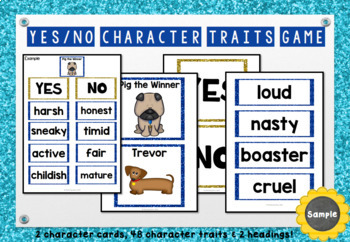 Pig the Winner - Character Traits Game