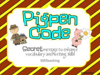 PigPen Code Breakers- End of Year Activity