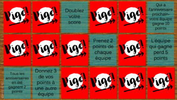 Pigé - A French Review Game