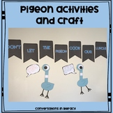 Pigeon Activities and Craft