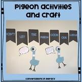 Pigeon Activities and Craft