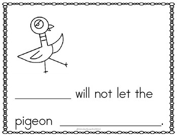 Don't Let the Pigeon...Class Book