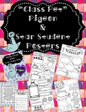 """Pigeon """"Class Pet"""" & Student of the Week Posters- Mo Willems"""