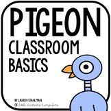 Pigeon Classroom Decor