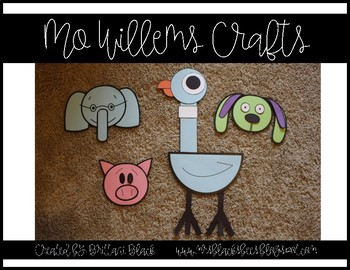 Mo Willems Crafts