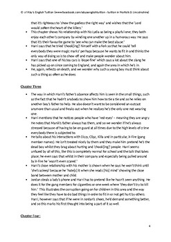 Pigeon English - FULL SUMMARY & ANALYSIS REVISION / STUDY GUIDE