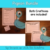 Pigeon Graphing and Writing Craftivity