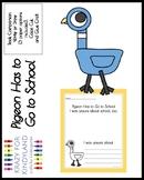 Pigeon Has to Go to School Craft for Kindergarten (Back to School)